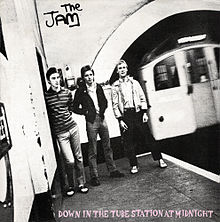 Down in the Tube Station at Midnight